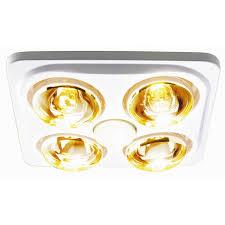 hpm 3 in 1 bathroom 4 heat fan light white bunnings warehouse