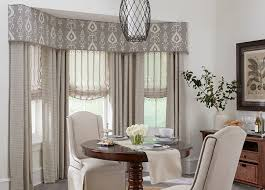 Dining Room Curtains Pertaining To Window Treatments Budget Blinds Plans 9