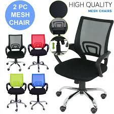 2 PC Adjustable Executive Office Computer Desk Chair Chrome Mesh Seat  Ventilate Luxury Pu Leather Executive Swivel Computer Chair Office Desk With Latch Recline Mechanism Brown Eliza Tinsley Black Belleze Highback Ergonomic Padded Arms Mocha Barton Economy Hydraulic Lift Senarai Harga Style Lifted Household Multi Heavy Duty Task Big And Tall Details About Rolling High Back Essentials Officecomputer Belleze Tilt Lumber Support Faux For Look Costway