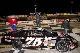 Jeremy Doss Celebrated His Birthday In The Winners Circle At Bullring After Taking Checkered