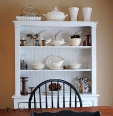 Shabby Chic Dining Room Hutch by Ceiling Luxury White Wood Buffet Hutch With Cabinet Glass Door