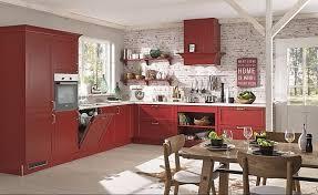 3710 1 rote landhaus küche in l form bristol karminrot esche lackiert rahmen massiv