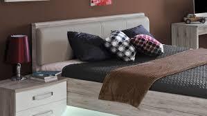 bett rondino jugendzimmerbett in sandeiche und weiß