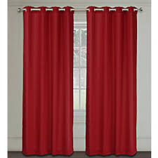 Thermalogic Curtains Home Depot by Thermalogic Trellis Grommet Red 40 X 84 The Home Depot Canada