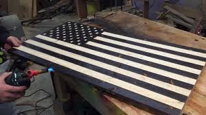 02 Sep Rustic Torched American Flag DIY Project