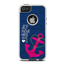 OtterBox muter iPhone 5 Case Skin Drop Anchor by Brooke
