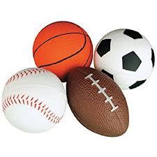 Relaxable Balls Foam Sports 1 Dz