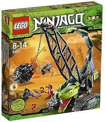 Toys R Us Art Master by Lego Ninjago Fangpyre Wrecking Ball 9457 Lego Toys