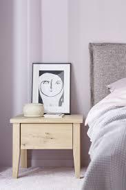 nachttisch bett schlafzimmer kommode holz minimal sleeping