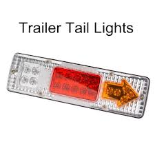 2 Pieces / Lot 19 Led Truck Tail Light 24V Car Led Taillight Left ... 2x Led Rear Tail Lights Truck Trailer Camper Caravan Bus Lorry Van 0708 Dodge Ram Pickup Euro Red Clear 111 Round And W Builtin Reflector 4 Inch Led Whosale 2018 8 Car Light Warning Rear Lamps Waterproof Amazonca Trucklite 44022r Super 44 Stopturntail Kit 42 2 Pcs With License Plate Lamp Durable Lights Ucktrailer Circular Stoptail Lamp 1030v 1 Pair 12v Turn Signal 20fordf150taillight The Fast Lane