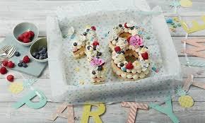 geburtstagszahlen torte
