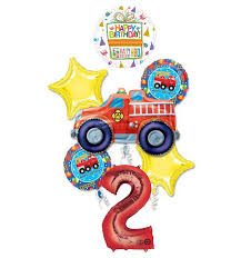 100 Truck Birthday Party Supplies Amazoncom Mayflower Products Fire Fire Engine 2nd