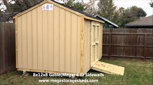 Tuff Shed Premier Pro Weekender Ranch by Storage Sheds Houston Tx 8x12x8 Youtube