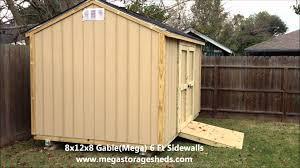 Tuff Shed Weekender Pro by Storage Sheds Houston Tx 8x12x8 Youtube