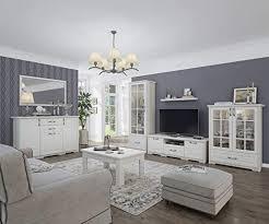 wohnzimmer komplett set c falefa 7 teilig farbe weiß