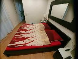 schlafzimmer malm 11tlg schwarz braun kommode spiegel ikea supi