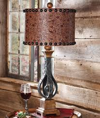 Punched Tin Lamp Shades Uk by Unique Western Style Lamp Shades 52 About Remodel Punched Tin Lamp
