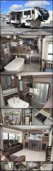 Fifth Wheel Campers With Front Living Rooms by Best 25 Fifth Wheel Living Ideas On Pinterest Rv Organization
