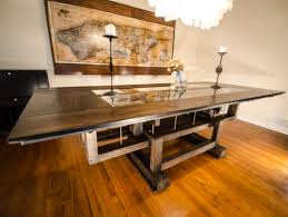 Custom Made Industrial Contemporary Eclectic Dining Table