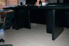 bureau direction occasion grand bureau noir medium size of bureau design grand grand bureau