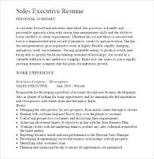 Fmcg Resume Format Sample For Sales Executive Free Example And Cover Letter