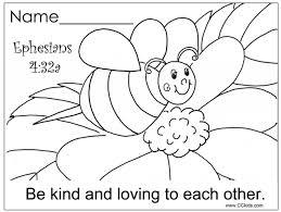 Preschool Bible Coloring Pages Regarding Invigorate To Color An