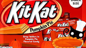 Pumpkin Spice Pringles 2017 by Pumpkin Pie Kit Kats Exist Here U0027s Where To Find Them