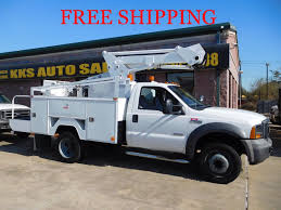 2005 Ford F-550 Utility Service Truck With Bucket - Boom Truck ...