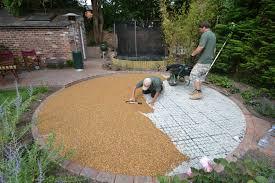 Pea Gravel Patio Plans by Diy Pebble Patio Diy Do It Your Self