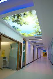 Newmat Light Stretched Ceiling by Barrisol Lumiere Ceiling Membranes Used In Bathroom Displays