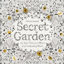 Stylist And Luxury The Secret Garden Coloring Book