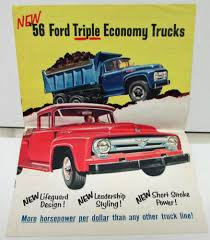 1956 Ford Car Truck Dealer Sales Service Parts New Models Intro Kit ... 1956 Ford Truck Parts Clackamas Auto On Twitter F100 4x4 Clackamasap 53 1953 Pickup Hot Rod Network Monoleaf And Disc Brake Upgrade Panel Rat Rods Stuck In The How To Install An Axle Flip Kit A 66 Youtube Utwo 56 Custom Bodiestroud Piupstrucks F600 Build Thread Abby Page 11 Enthusiasts Tractor Wrecking Then Now Automotive 481956 Accsories