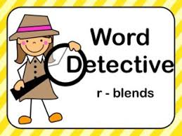 Word Detective R Blends