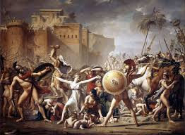 The Intervention Of Sabine Women Jacques Louis David
