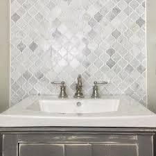 Marble Backsplash Tile Home Depot by Backsplash Ideas Amazing Carrara Marble Mosaic Tile Backsplash