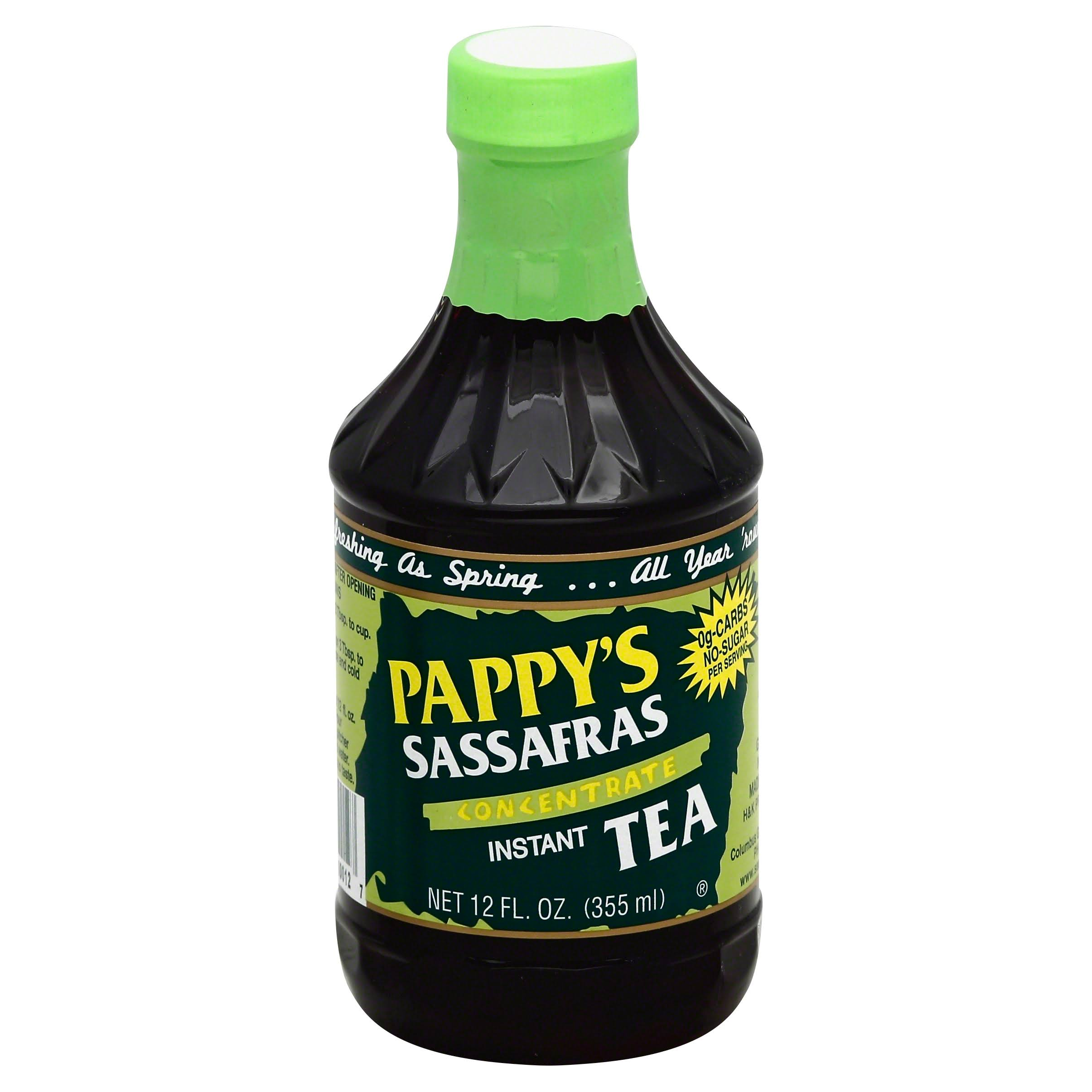 Pappy's Sassafras Concentrate Instant Tea - 355ml