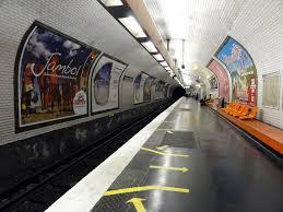 metro denis porte de porte de clichy métro rer