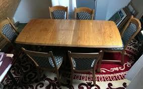 esszimmer tisch stühle eiche massiv esszimmergruppe garnitur