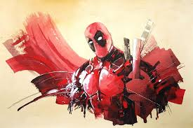 Superhero Comic Wall Decor by Deadpool Poster Superhero Comic Art Waterproof Wall Decor Bedroom