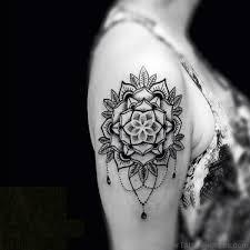 70 Fantastic Mandala Flower Tattoos On Shoulder
