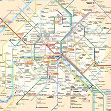 metro denis porte de metro map the pass