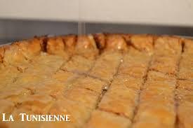 recette de cuisine tunisienne avec photo recette exclusive de la baklava tunisienne