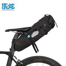 siege velo vtt roswheel vélo siège arrière sac de selle accessoires de vélo vtt