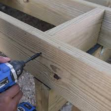Floor Joist Bracing Spacing by How To Build A Deck Composite Decking And Railings