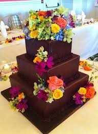 4 ideal t of birthday cocolate cake with flowers