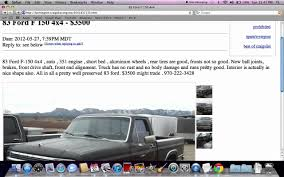 Craigslist Farmington New Mexico - Used Cars And Trucks Under $4000 ... A Tale Of Craigslist Wheels The Truth About Cars Grhead Field Of Dreams Antique Car Salvage Yard Youtube Saleen Ranger On Station Forums Ten Best Places In America To Buy Off For 19500 Virginia Is El Camino Lovers Va 2017 Chevrolet 3600 Classics For Sale Autotrader 2950 Diesel 1982 Luv Pickup Seven New Thoughts And Trucks San Norcal Motor Company Used Auburn Sacramento