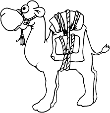 Camel coloring page Animals Town animals color sheet Camel