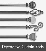 decorative window curtain rods curtain rod brackets finials