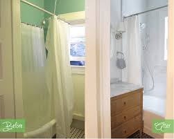 Small Bathroom Remodels Before And After by Before U0026 After Small San Francisco Bathroom Remodel Niche Interiors