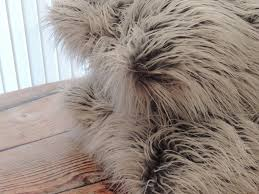 Pier One Canada Decorative Pillows by Buy A Custom Mongolian Grey Frost Faux Fur 18 X 18 In Decorative